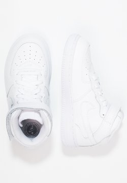 Nike Sportswear - NIKE FORCE 1 MID (TD) - Sneakers hoog - white