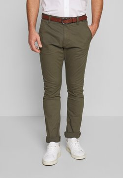 INDICODE JEANS - GOVER - Chinot - army