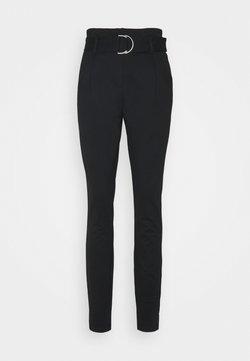 Vero Moda Tall - BAILEY PAPERBAG BELT PANTS TALL - Pantaloni - black