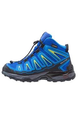 Salomon - X-ULTRA MID GTX - Obuwie hikingowe - bleu/noir