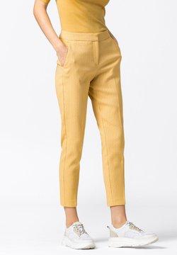 HALLHUBER - Pantalon classique - safran