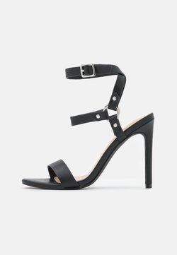 Even&Odd - Sandaalit nilkkaremmillä - black