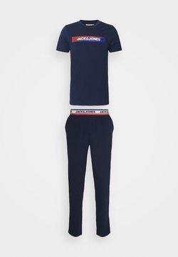 Jack & Jones - JACSIMON LONG PANTS SET - Pyjama - maritime blue