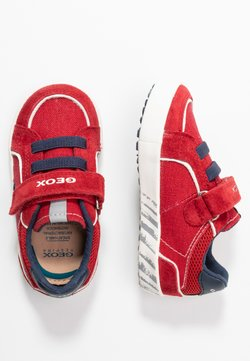 Geox - KILWI BOY - Sneaker low - dark red/navy