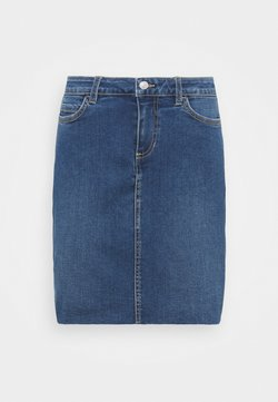 TOM TAILOR DENIM - MINI SKIRT - Jeansrock -  blue denim