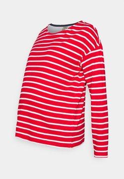 Frugi - TRICIA  - Camiseta de manga larga - tango red breton