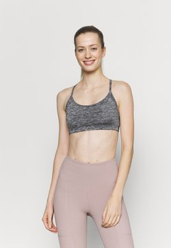Cotton On Body - WORKOUT YOGA CROP - Sport-BH mit leichter Stützkraft - salt/pepper