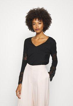 Desigual - AMELIA - Bluzka z długim rękawem - black