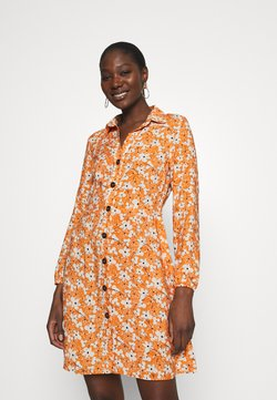 Mavi - LONG SLEEVE DRESS - Blusenkleid - autumn maple