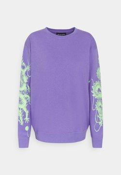 NEW girl ORDER - DRAGON  - Sweatshirt - lilac