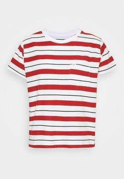 Lee - RELAXED POCKET TEE - T-shirt imprimé - red ochre