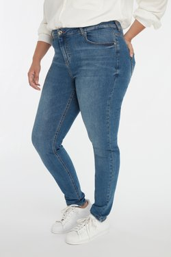 MS Mode - IRIS  - Slim fit jeans - blue