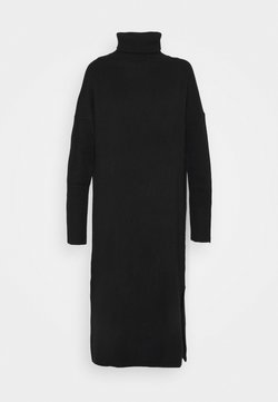 CHINTI & PARKER - ROLL NECK DRESS - Gebreide jurk - black