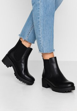 Rubi Shoes by Cotton On - KENNEDY GUSSET BOOT - Plateaustiefelette - black