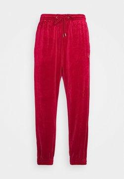 Karl Kani - UNISEX SIGNATURE TRACK PANTS - Jogginghose - dark red