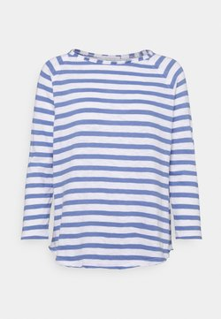 Rich & Royal - HEAVY STRIPED - Langarmshirt - sky blue