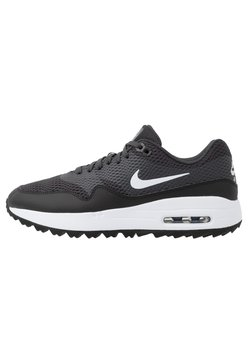 Nike Golf - AIR MAX 1 G - Obuwie do golfa - black/white/anthracite