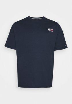 Tommy Jeans Plus - CHEST LOGO TEE - T-shirt basique - twilight navy