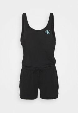 Calvin Klein Swimwear - ROMPER - Accessoire de plage -  black