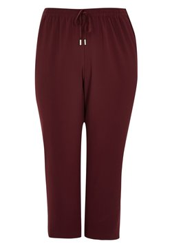 River Island Plus - Jogginghose - red