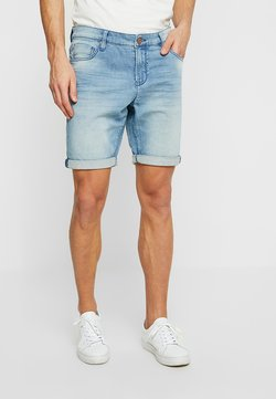 Cars Jeans - TUCKY - Jeans Shorts - bleached denim