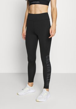 Calvin Klein Performance - FULL LENGTH - Medias - black