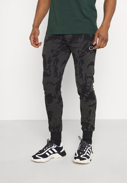 Criminal Damage - ABSTRACT JOGGER - Jogginghose - black