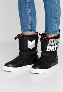 Superdry - JAPAN EDITION - Śniegowce - black
