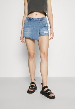 ONLY - ONLTEXAS LIFE - Shorts - light blue denim