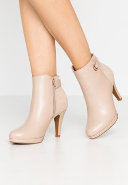 Anna Field - High heeled ankle boots - beige