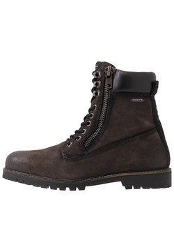 Pepe Jeans - MELTING WOODLAND - Schnürstiefelette - anthracite