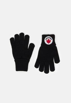 Dsquared2 - GLOVES UNISEX - Fingerhandschuh - black