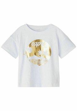 Name it - T-shirt con stampa - bright white