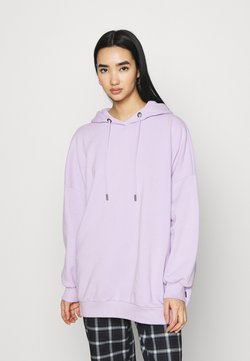 Noisy May - NMBELIEVE OVERSIZE - Jersey con capucha - pastel lilac