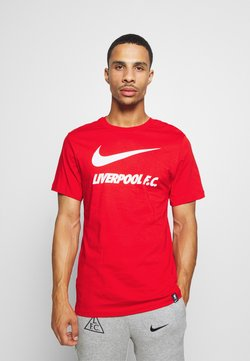 Nike Performance - LIVERPOOL FC TEE GROUND - Klubtrøjer - university red