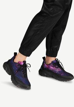 Tamaris Fashletics - LACE UP - Sneakers laag - black comb