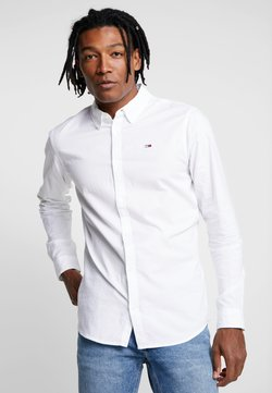 Tommy Jeans - OXFORD SHIRT - Camisa - white