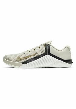 Nike Performance - METCON - Kuntoilukengät - light orewood brown/dark smoke grey/metallic gold