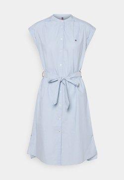 Tommy Hilfiger - OXFORD KNEE DRESS  - Vapaa-ajan mekko - breezy blue