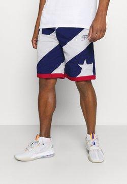 Nike Performance - THROWBACK - Pantalón corto de deporte - blue void/white/university red