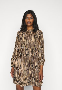 Vero Moda Petite - VMSAGA SHORT DRESS  - Korte jurk - tan