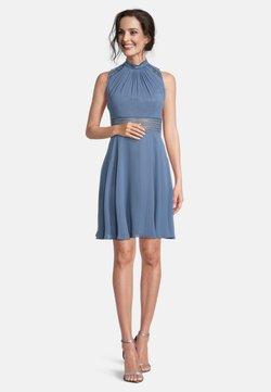 Vera Mont - MIT SPITZENEINSATZ - Cocktailkleid/festliches Kleid - hushed blue