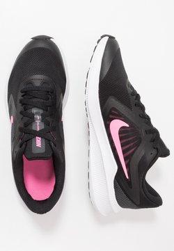 Nike Performance - DOWNSHIFTER - Juoksukenkä/neutraalit - black/pink glow/anthracite/white