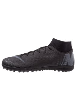 Nike Performance - MERCURIAL SUPERFLYX 6 ACADEMY TF - Fußballschuh Multinocken - black/anthracite/light crimson