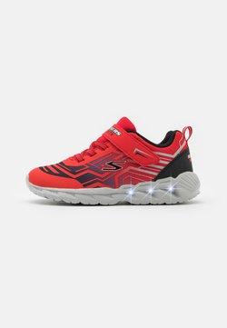Skechers - MAGNA LIGHTS BOZLER - Sneaker low - red/black