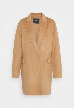 maje - Płaszcz wełniany /Płaszcz klasyczny - camel