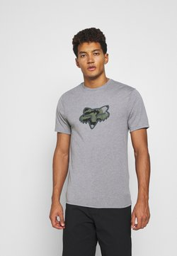 Fox Racing - PREDATOR TECH TEE - T-Shirt print - heather graph