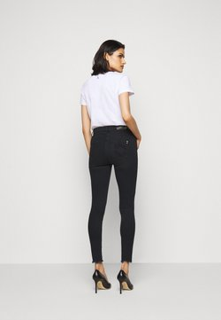 Patrizia Pepe - LOW WAIST OPEN  - Jeans Skinny Fit - dark cement