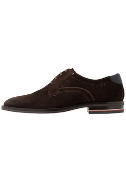 Tommy Hilfiger - SIGNATURE SHOE - Derbies - cocoa