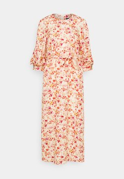 Mother of Pearl - MIDI DRESS WITH TUCKS IN SLEEVE - Maxikleid - sepia blossom